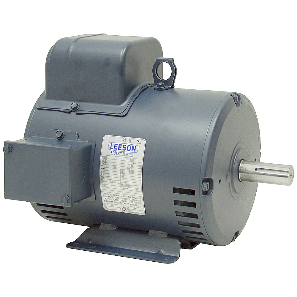 5 hp 208 230 vac 1740 rpm motor leeson m 5 184t Leeson Electric Motors Dealers 3 Phase Electric Motor