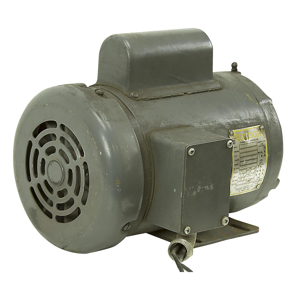 1 5 hp 3450 rpm 115 230 vac baldor tang drive motor 35e84 for Baldor 1 5 hp motor