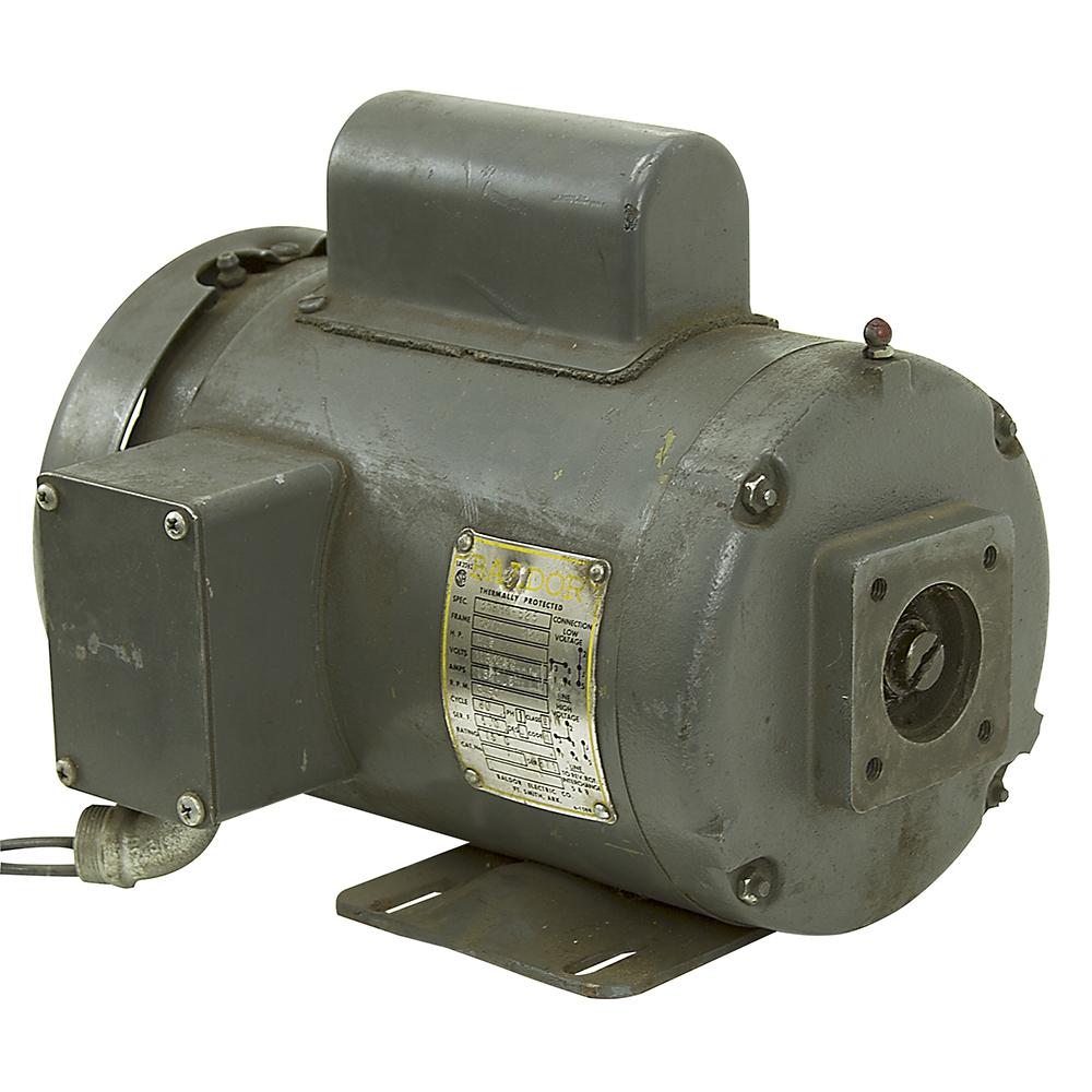 1 5 hp 3450 rpm 115 230 vac baldor tang drive motor 35e84 for Mcd motors mobile al