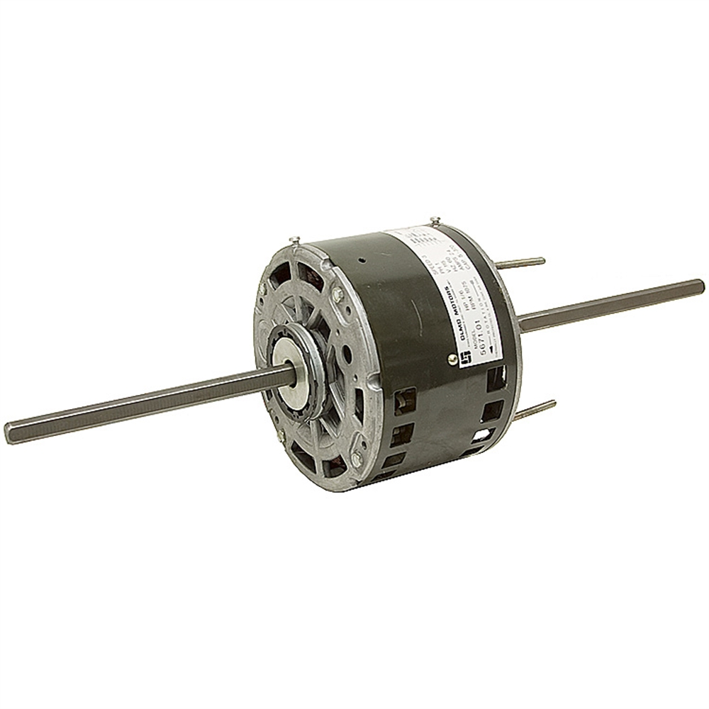 1 6 hp 115 vac 1075 rpm 3 speed motor fan air for 1 10 hp motor