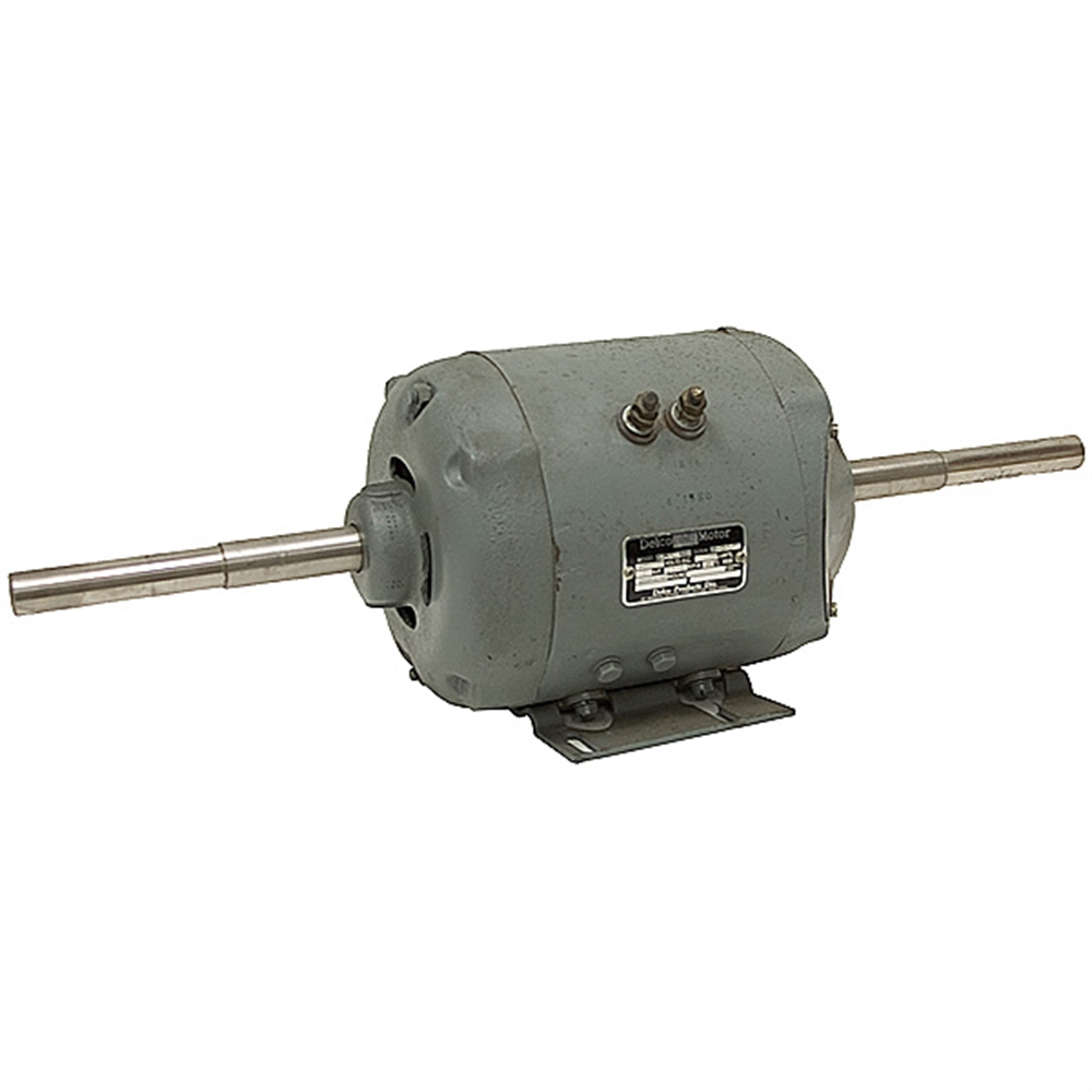 1 Hp 12 Volt Dc 1750 Rpm Motor Dual Shaft Delco Brands