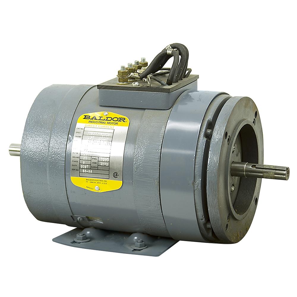 5 8 Hp 2600 Rpm 24 Vdc Baldor Motor 27 1871 2029 Dc
