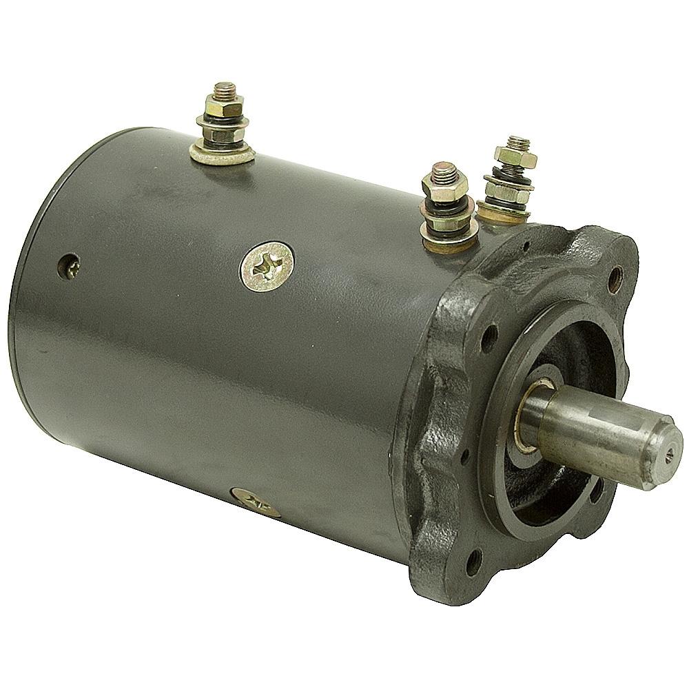 12 Volt DC 8000 RPM Winch Motor | DC Motors Face Mount ...