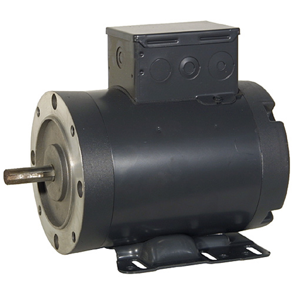 2 Hp 575 Vac 3450 Rpm 3ph Motor 3 Phase Motors Face