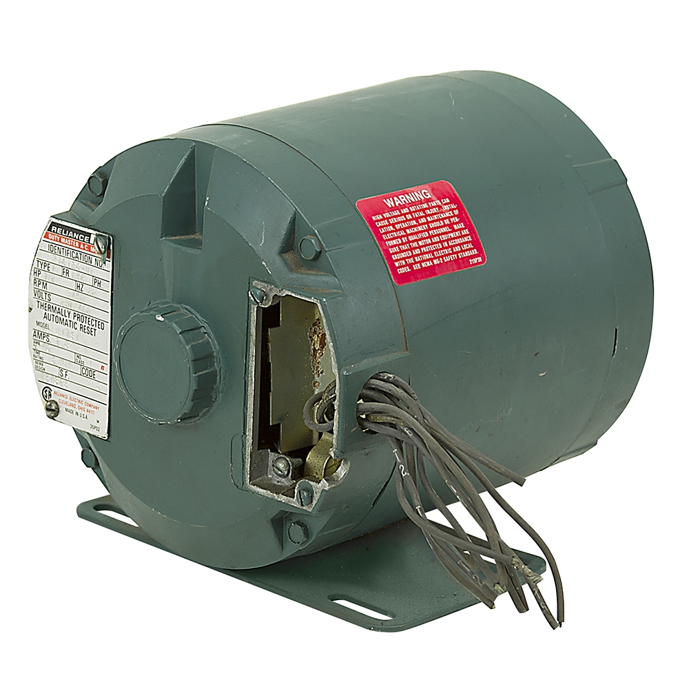 1/2 HP 3450 RPM 230/460 Volt AC 3-Phase Tang Drive Motor Reliance 716120-UE