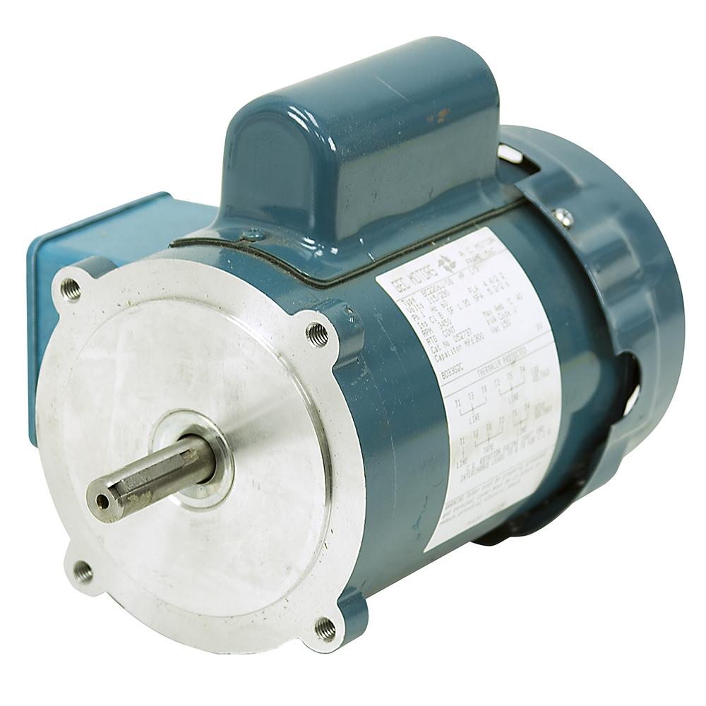 1 3 Hp 3450 Rpm 115 230 Vac Gec Machines Motor Bc2206j 08
