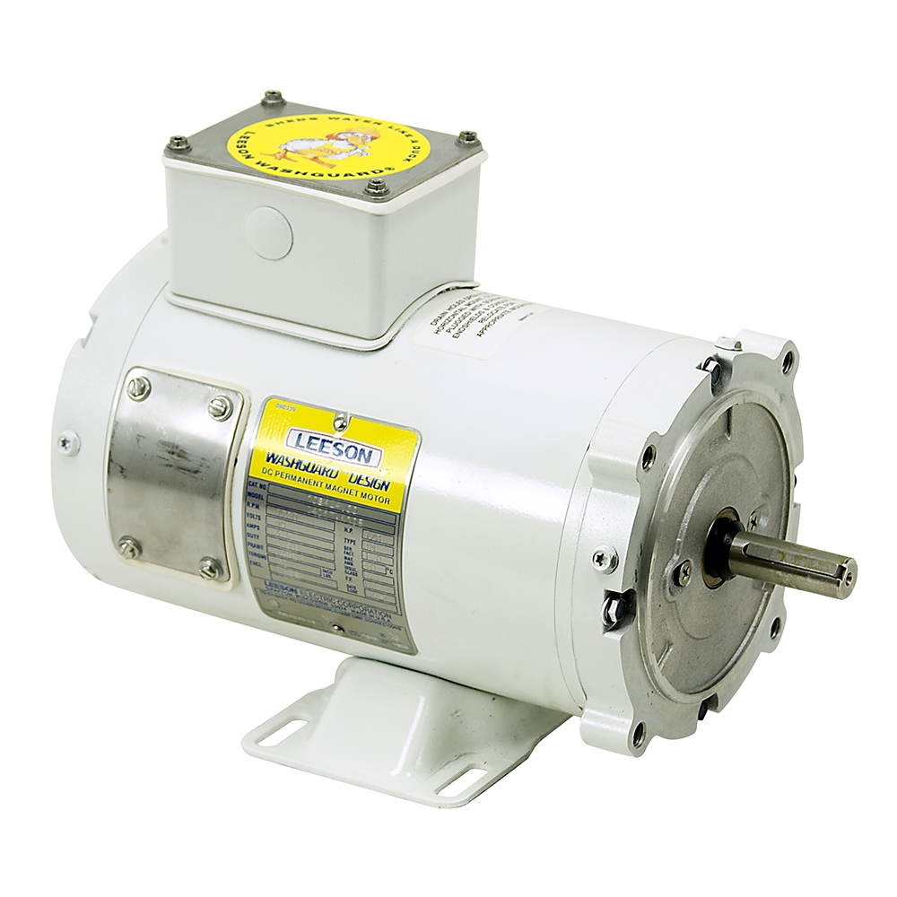 1 3 hp 1750 rpm 90 vdc washguard motor leeson c4d17vk10b for 1 hp electric motor