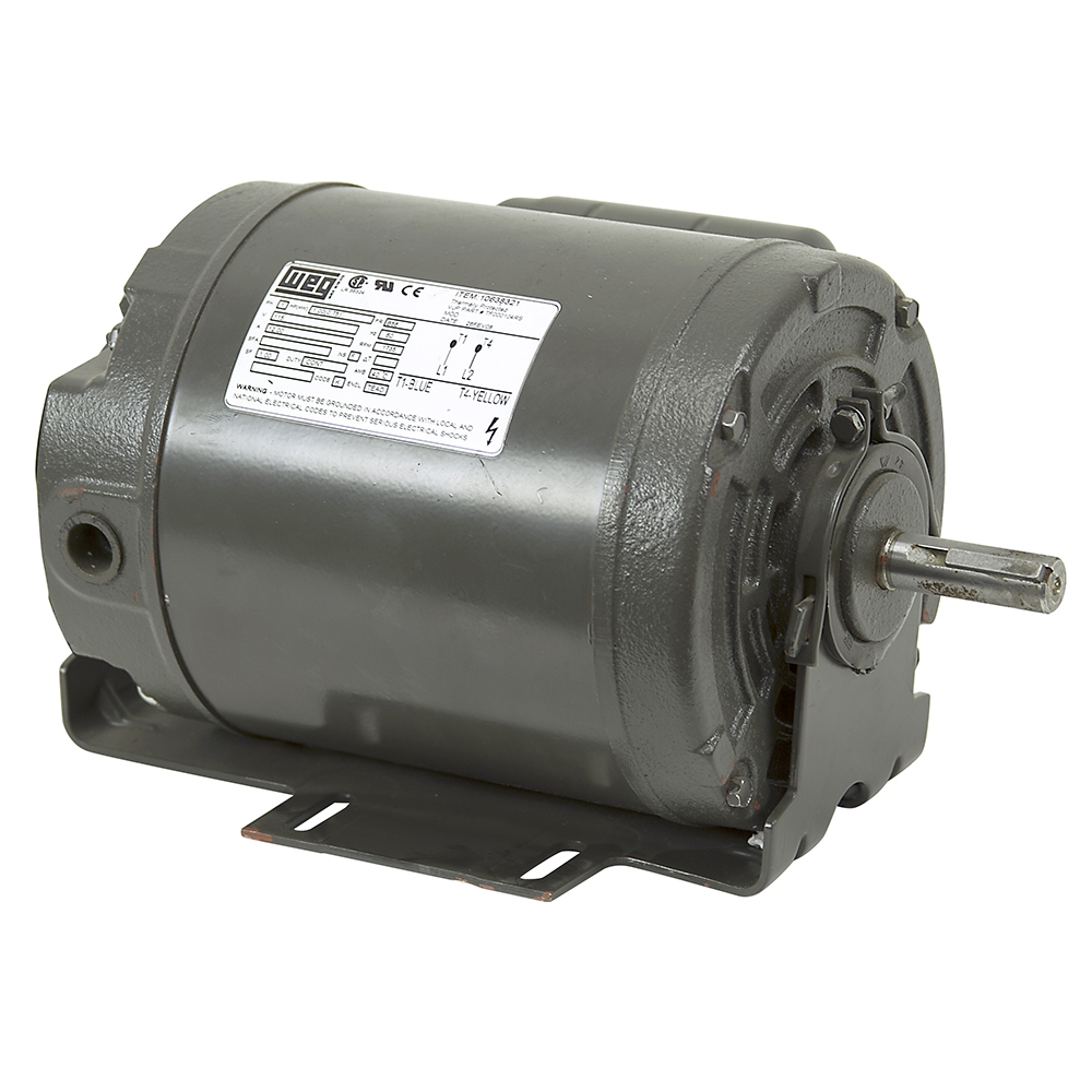 1 hp 1735 rpm 115 vac motor weg 10638321 ac motors base for 1 10 hp motor
