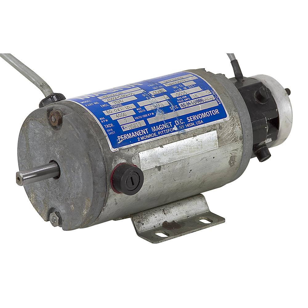 120 volt dc 4000 rpm magna servomotor w tachogenerator for 4000 rpm dc motor