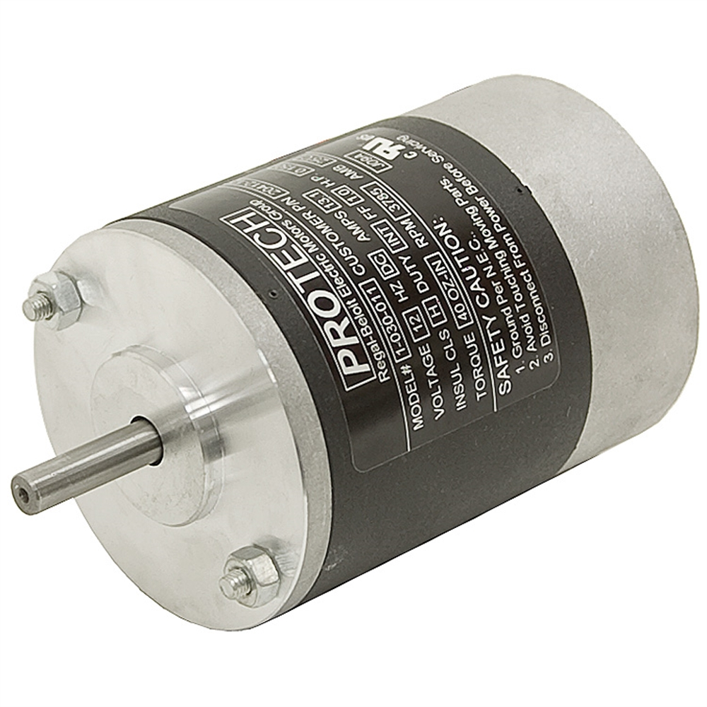 1 7 Hp 12 Vdc 3785 Rpm Pm Motor Dc Motors Face Mount