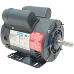 5 HP Special Duty 230 Volt AC 3450 RPM Leeson Air Compressor Motor