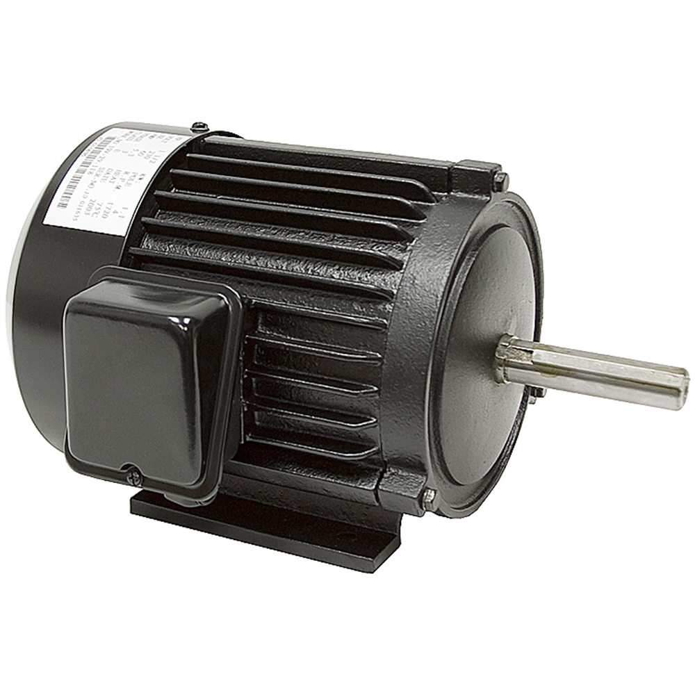 1 5 hp motor 230 vac 1720 rpm 3ph motor 3 phase motors for 3 hp single phase electric motor
