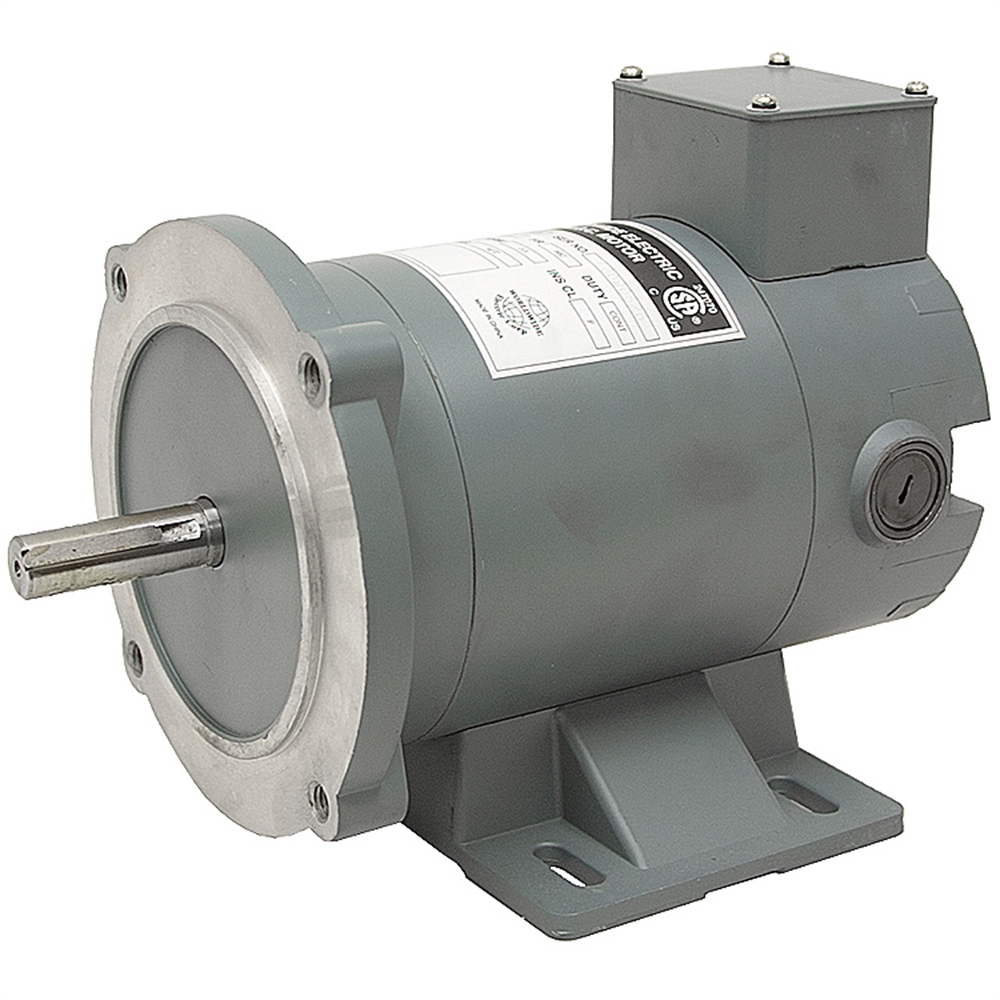 1 3 hp 90 volt dc 1800 rpm motor 56c worldwide electric for 90 volt dc motor