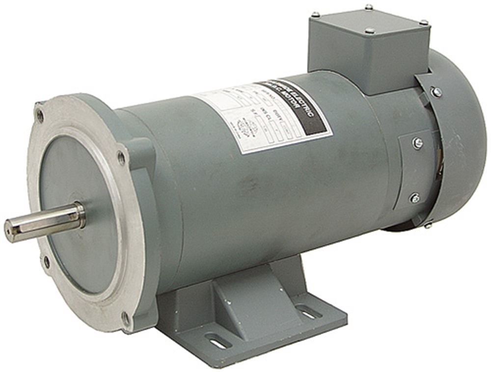 3 4 hp 90 volt dc 1800 rpm motor 56c worldwide electric for 90 volt dc motor controller