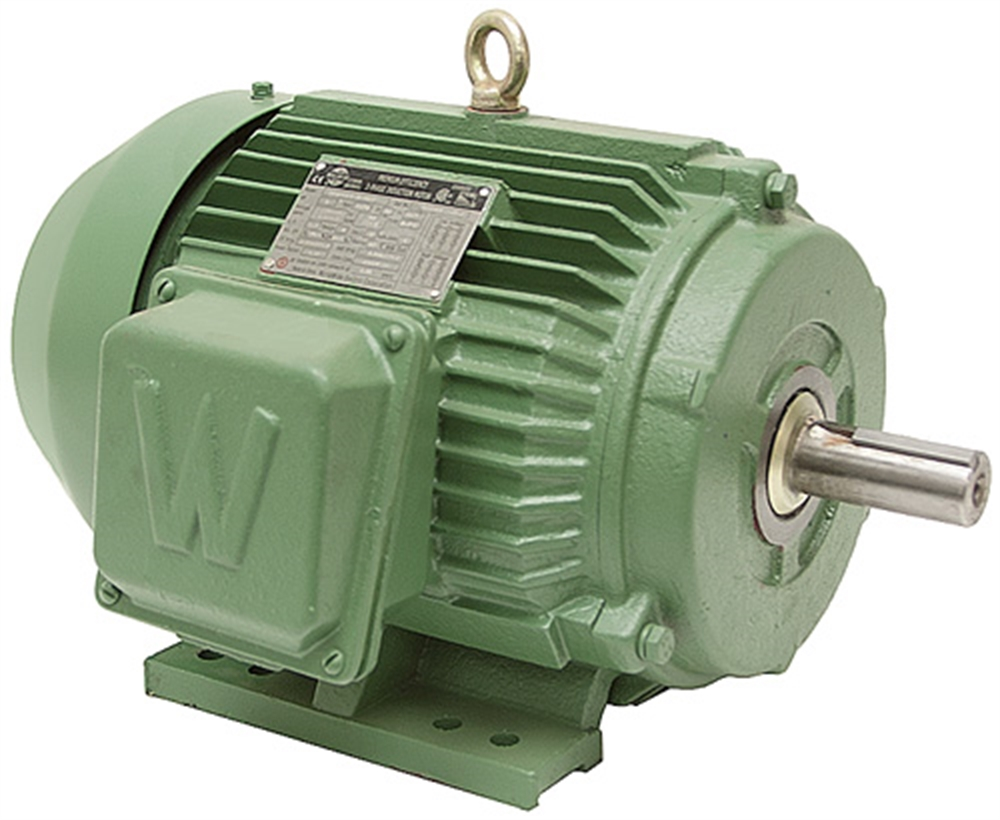 25 hp 1800 rpm 208 230 460 volt ac 3ph prem eff motor 3