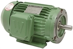 1 HP 1800 RPM 208-230/460 Volt AC 3Ph Prem Eff Motor 145TC