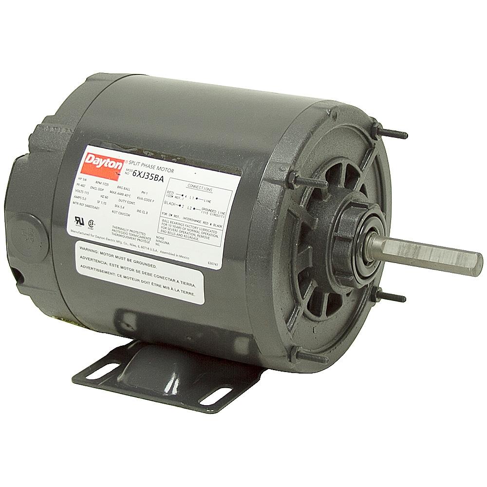 1 4 hp 1725 rpm dayton 120 vac motor ac motors base for 1 10 hp motor