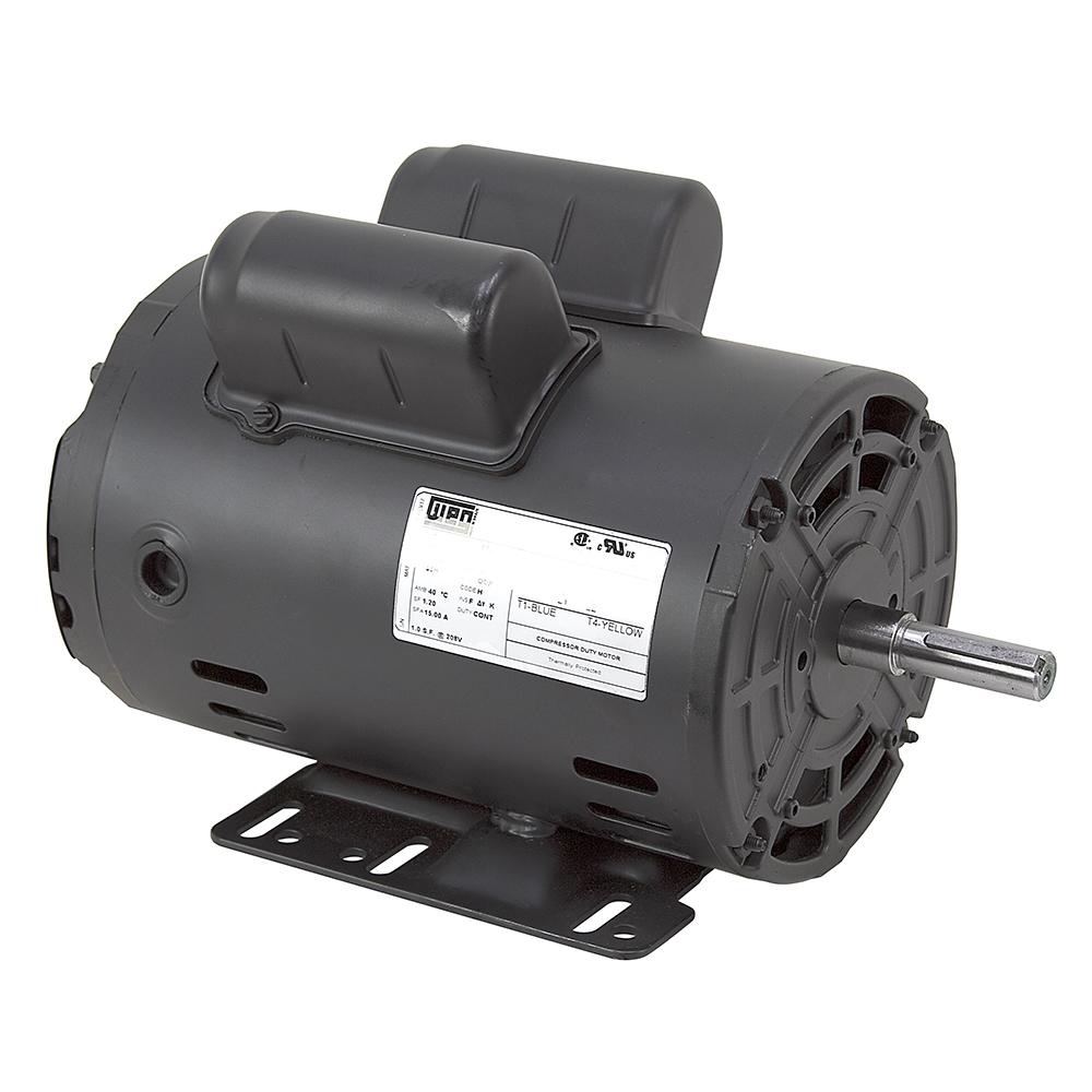 3 HP 230 Volt AC 3420 RPM WEG Air Compressor Motor Weg Electric Motor Single Phase V Ac Wiring Diagram on