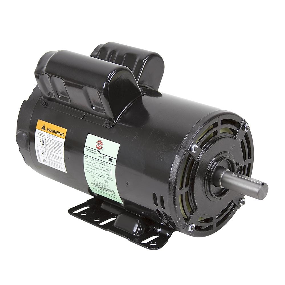 5 hp special compressor duty 230 volt ac 3450 rpm us motors air