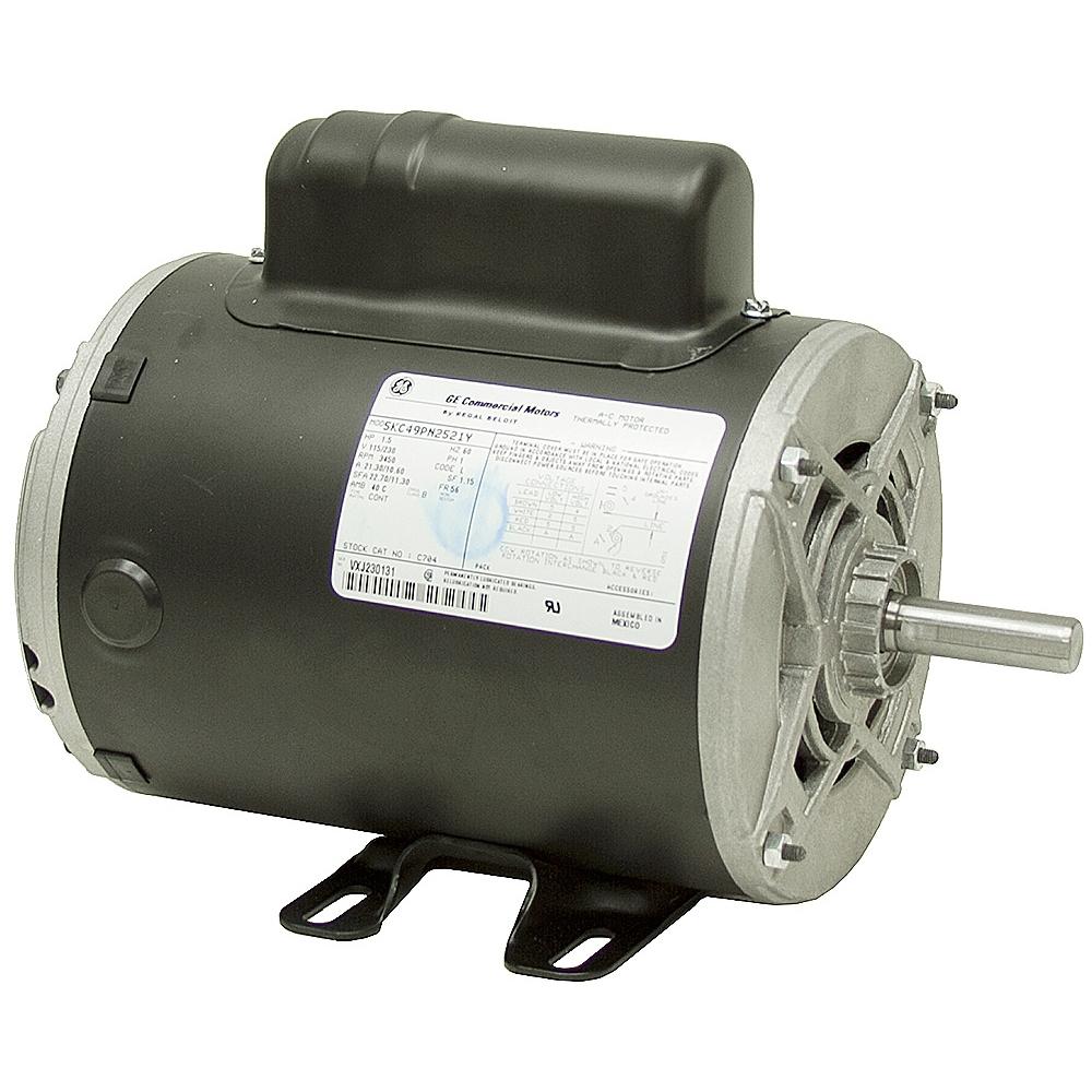 1 5 hp 3600 rpm 115 230 vac motor odp c704 ac motors for 1 hp motor rpm