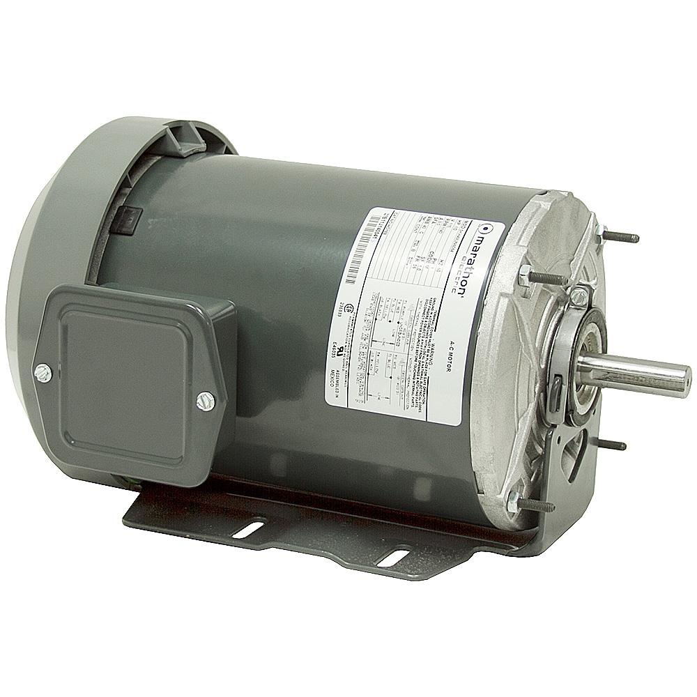 1 2 Hp 1200 Rpm 115 Vac Motor Tefc 5kh49un6064