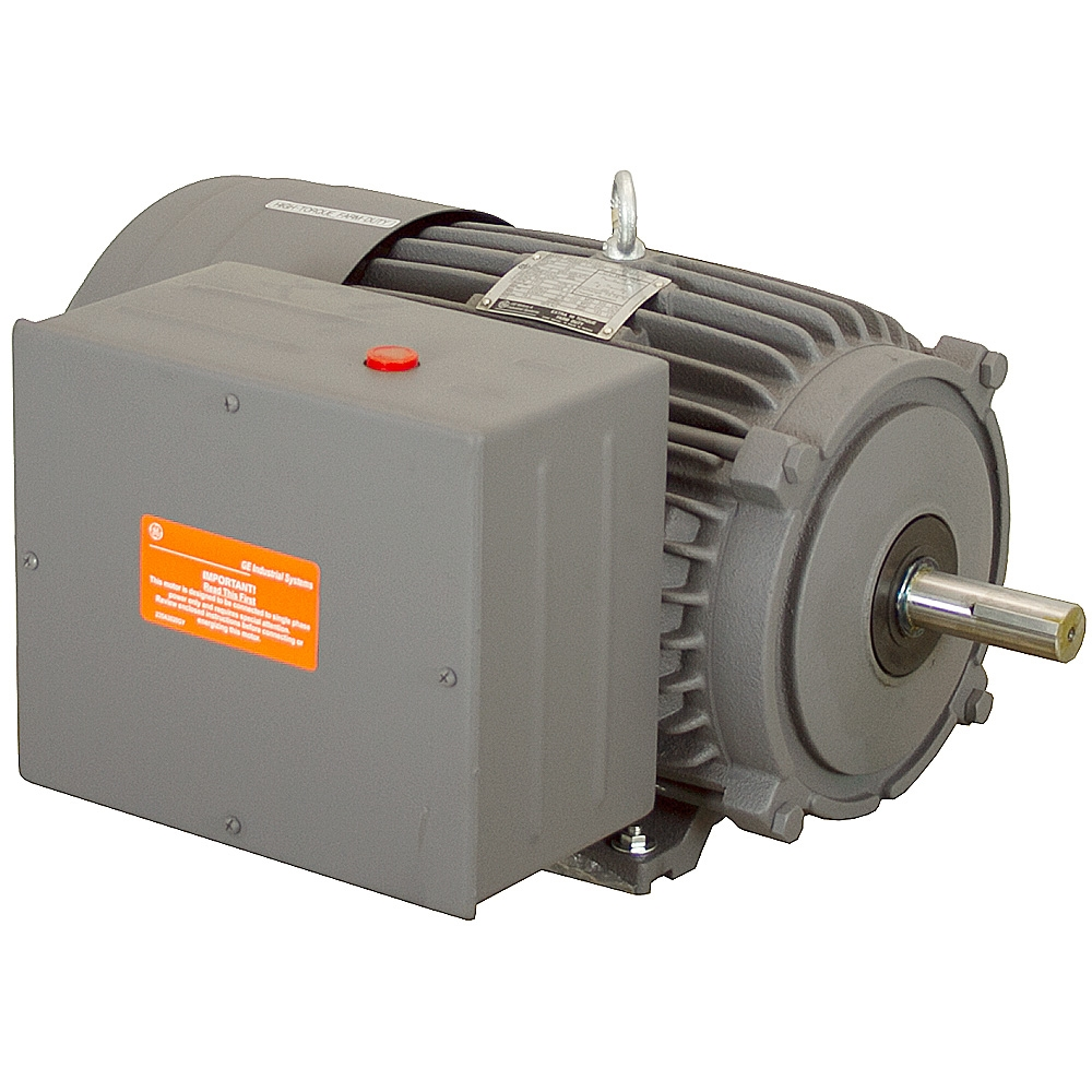 10 hp 1710 rpm 230 v farm duty motor 5kc215bc219u ac for 10 hp ac motor