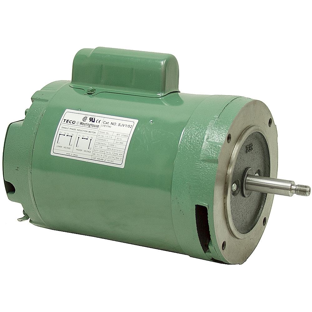 1 5 Hp 3600 Rpm 115 230 Vac Motor 56j Pool Spa Jet Pump Motors Ac Motors Electrical