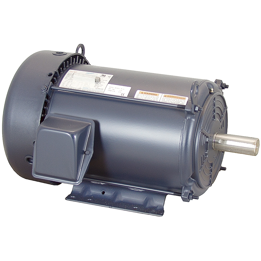 7 5 hp 230 460 vac 3ph 1740 rpm leeson motor 3 phase for 7 5 hp 3 phase motor
