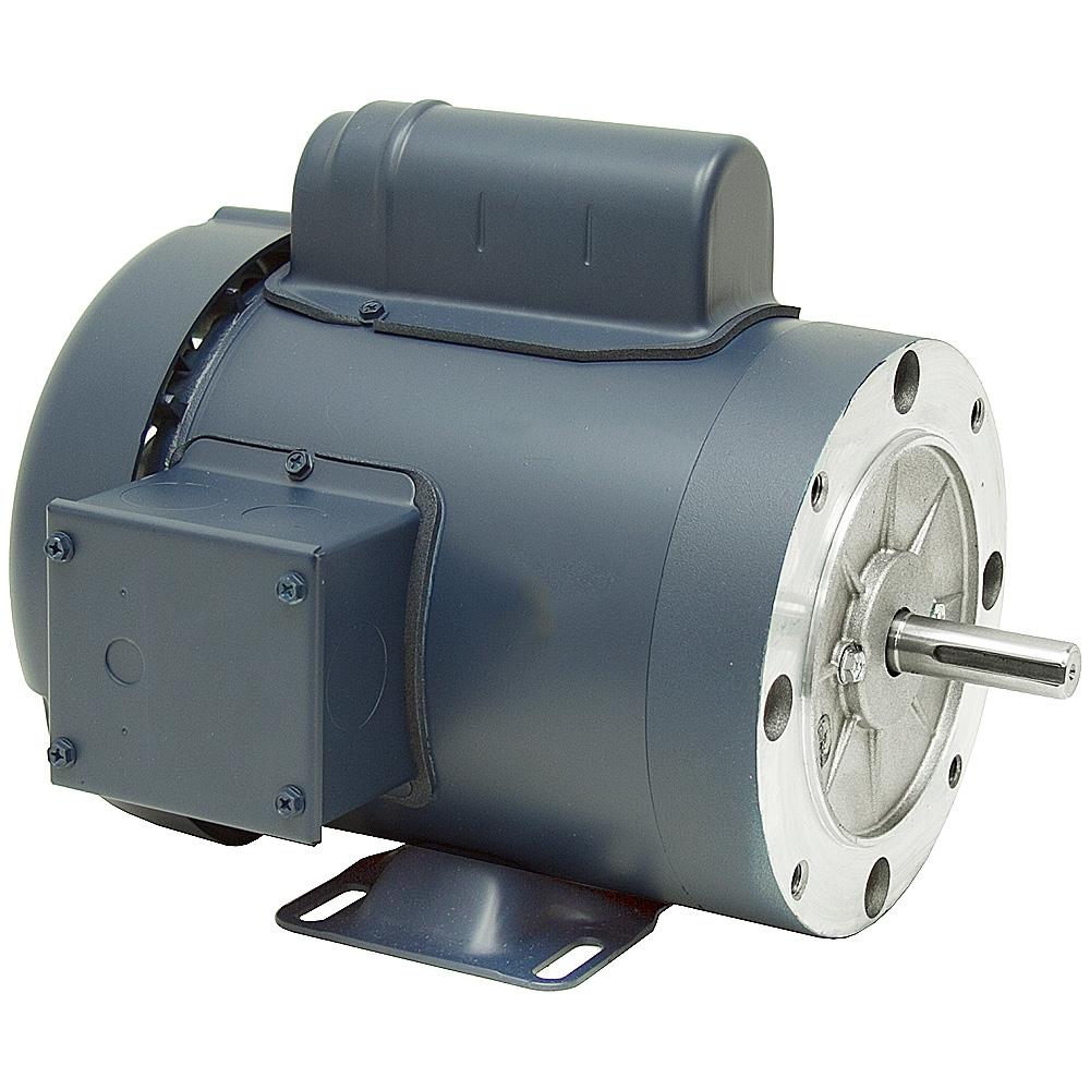 1 4 hp 1800 rpm 115 230 volt ac 56c tefc leeson motor for 1 4 hp ac motor