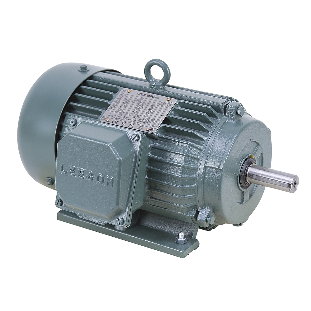 1 hp 1800 rpm 230 460 vac 3ph 145t leeson motor 3 phase for 10 hp 3 phase electric motor