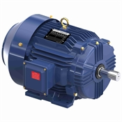 10 HP 1800 RPM 230/460 Volt AC 3Ph 215T Leeson Motor