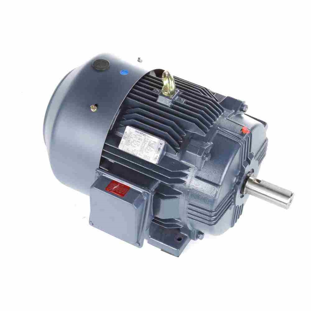 25 Hp 1800 Rpm 230 460 Vac 3ph 284t Leeson Motor 3 Phase