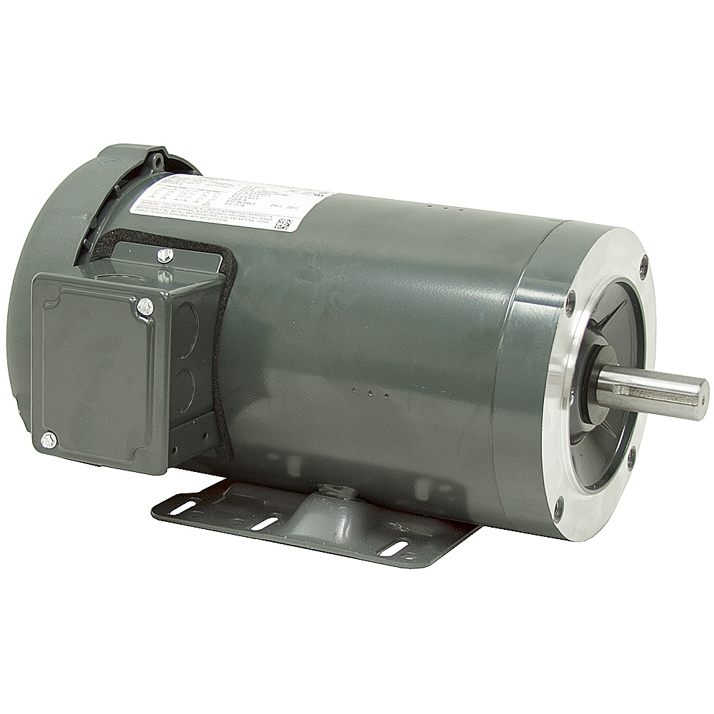 1 5 hp 1800 rpm 230 460 vac 3ph 145c lincoln motor 3 for 3 hp single phase electric motor