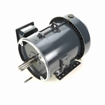 3 HP 1800 RPM 230/460 Volt AC 3Ph 182TC Leeson Motor