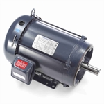 7.5 HP 1800 RPM 230/460 Volt AC 3Ph 213TC Leeson Motor