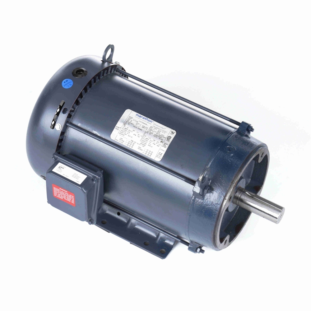 10 hp 1800 rpm 230 460 vac 3ph 215tc leeson motor 3
