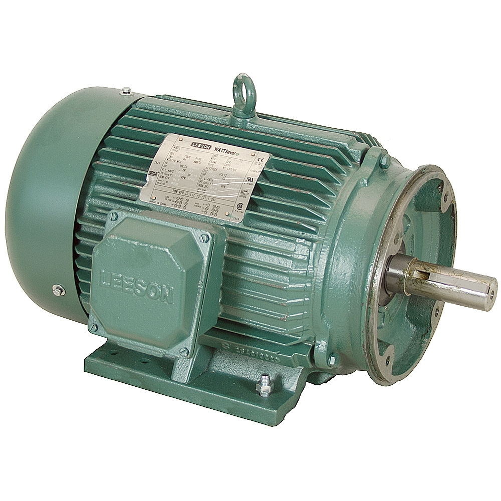 20 hp 1800 rpm 230 460 vac 3ph 256tc leeson motor