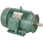 20 HP 1800 RPM 230/460 Volt AC 3Ph 256TC Leeson Motor