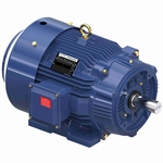 25 HP 1800 RPM 230/460 Volt AC 3Ph 284TC Leeson Motor