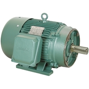 50 HP 1800 RPM 230/460 Volt AC 3Ph 326TC Leeson Motor