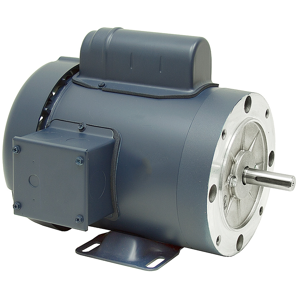 1 2 Hp 3600 Rpm 115 230 Vac 56c Tefc Leeson Motor