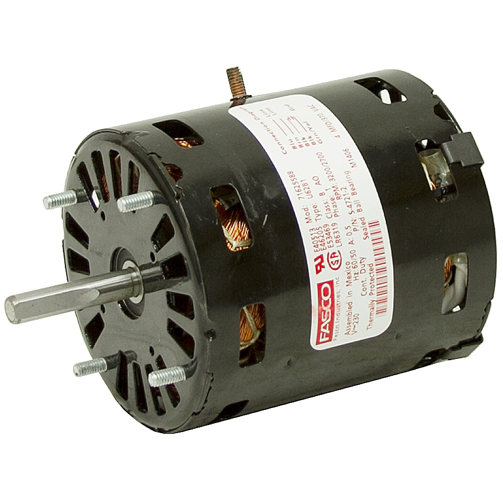 230 vac blower motor fan air conditioner motors ac for Home ac blower motor