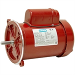 1/2 HP 1725 RPM 115/230 Volt AC 48Y TEFC Poultry Feed Auger Motor