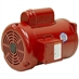 1 HP 1725 RPM 115/208-230 Volt AC  TEFC Poultry Feed Auger Motor - Alternate 1