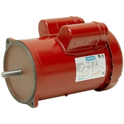 1.5 HP 1725 RPM 115/230 Volt AC TEFC Poultry Feed Auger Motor Leeson 117884.00