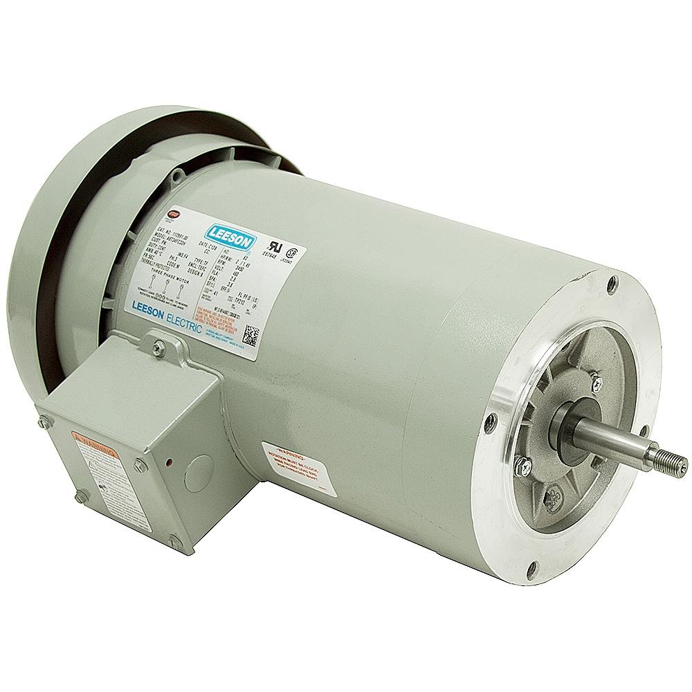 2 hp 3450 rpm 460 vac 3 ph irrigation pump motor for Electric motor cost calculator