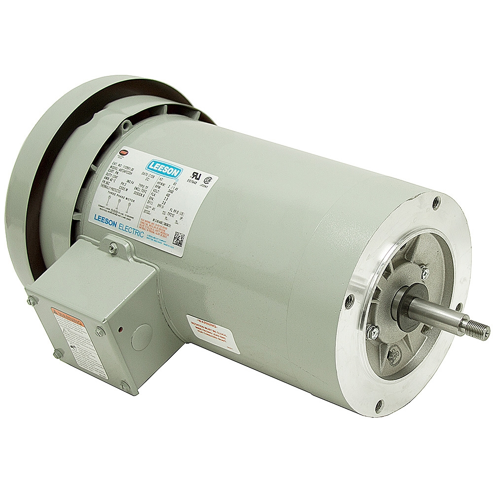 2 hp 3450 rpm 460 volt ac 3ph irrigation pump motor for Two phase electric motor
