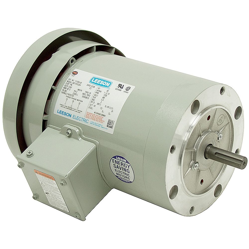 1 hp 1725 rpm 460 vac 3 ph irrigation drive motor 3 for Single phase motor drive