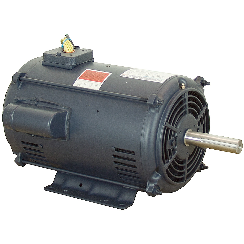 10 Hp 3450 Rpm 230 Vac 215tz Crop Dryer Motor Leeson