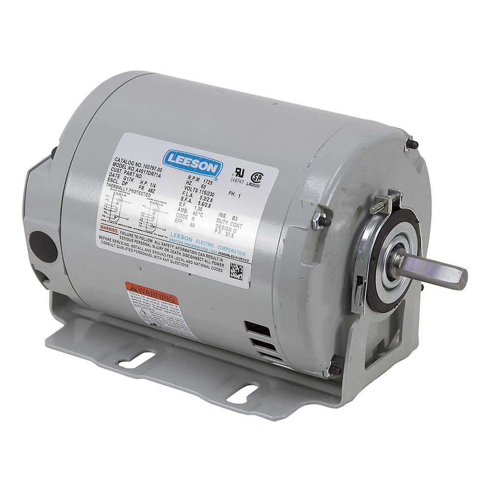 1  4 Hp 1725 Rpm 115  230 Volt Ac 48 Frame Fan Motor
